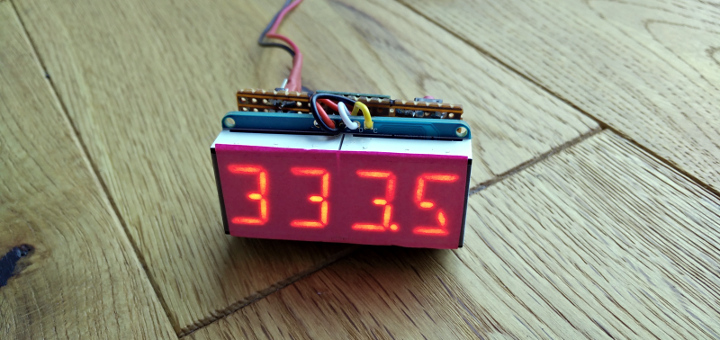 ESP8266 Strava running stats display